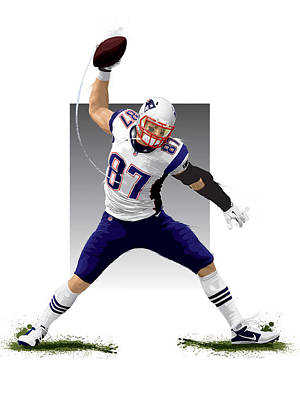 Gronk Print by Scott Weigner