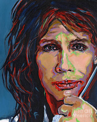 Aerosmith Painting - Steven Tyler by Tanya Filichkin