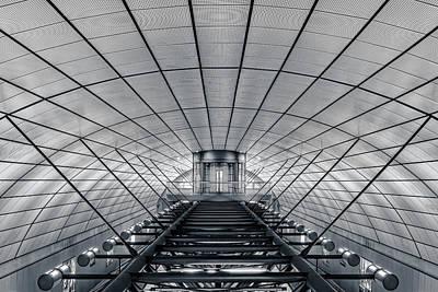 Train Station Photograph - Ground Control by Oscar Lopez