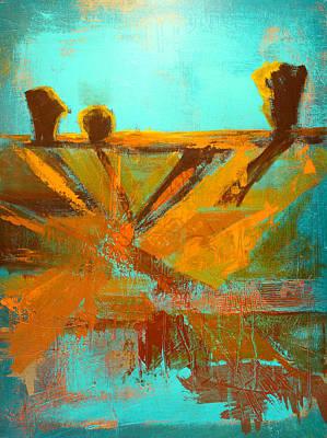 Ground Elements Original by Nancy Merkle