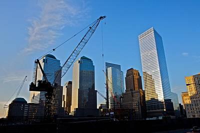 Work In Progress Photograph - Ground Zero - Nyc - by Miranda  Miranda