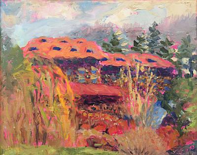 Grove Park Inn Spring Original by Lisa Blackshear