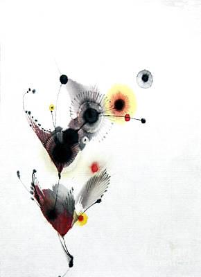 Brush Painting - Growing 14030091fy by Fumiyo Yoshikawa