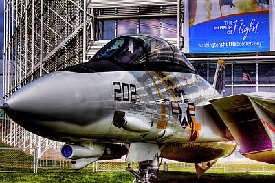 Fighters Photograph - Grumman F-14a Tomcat by David Patterson