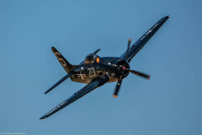 Photograph - Grumman F8f Bearcat by Tommy Anderson