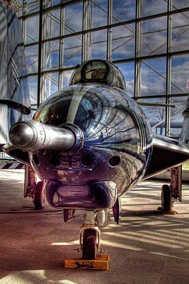 Boeing Photograph - Grumman F9f-8 F-9j Cougar by David Patterson