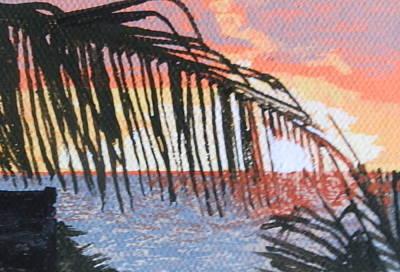 Guana Bay Sunrise Print by Margaret Brooks
