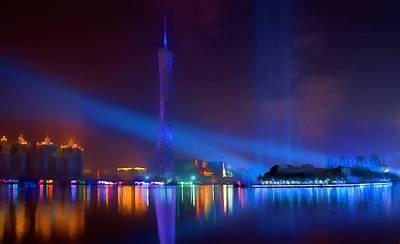 Guangzhou Tv Tower 1 Print by Lanjee Chee