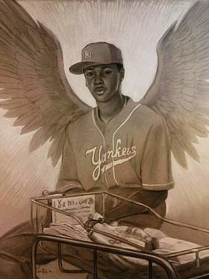 Miraculous Drawing - Guardian Angel by Calvin Carter