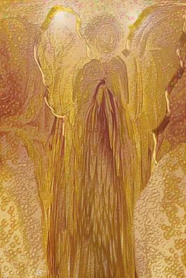 Guardian Angel Print by Linda Sannuti