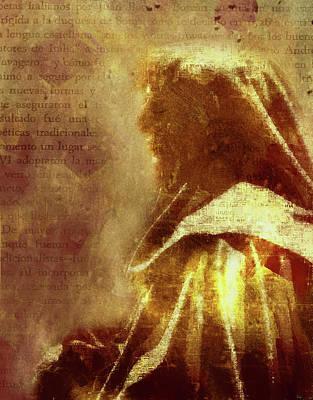 Prophet Mixed Media - Guardian Of Your Heart by Georgiana Romanovna