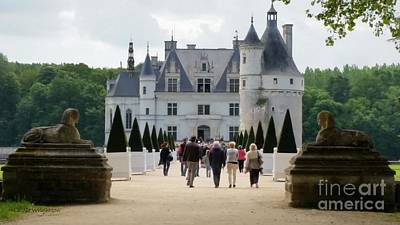 Guarding Chenonceau Print by Lainie Wrightson