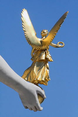 Winged Victory Photograph - Guided Angel by Marc Huebner