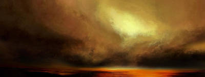Jmw Painting - Guiding Light by Lonnie Christopher