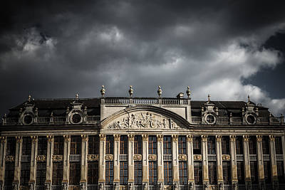Brussels Photograph - Guild Houses by Chris Fletcher