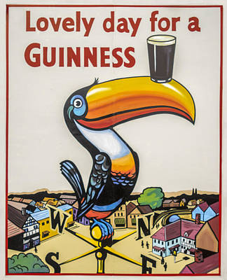 Medieval Temple Photograph - Guinness Toucan by F Leblanc