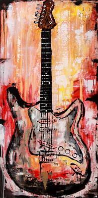 Guitar 9  Original by Kayla Mallen