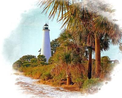 Photograph - Gulf Coast Lighthouse 1 by Marty Koch