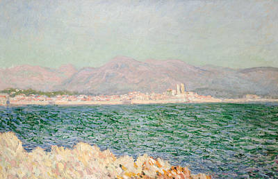 Tranquil Painting - Gulf Of Antibes by Claude Monet