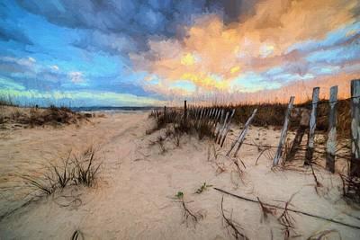 Gulf State Park In Orange Beach Print by JC Findley