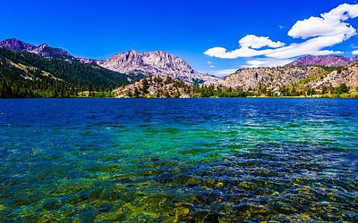 Ca Photograph - Gull Lake Near June Lakes California by Scott McGuire