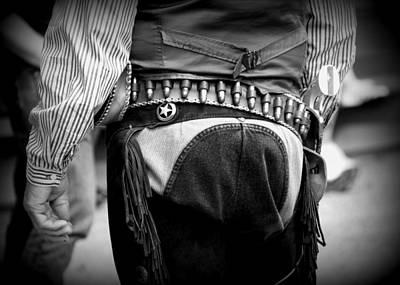 Concho Photograph - Gun Belt by Gayle Johnson