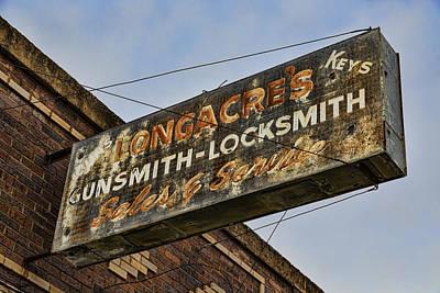 Guns And Locks Print by Stephen Stookey