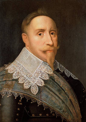 Adolf Painting - Gustavus Adolphus Of Sweden by War Is Hell Store