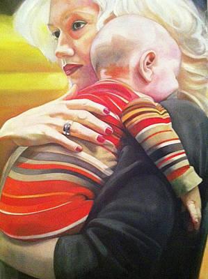 Gwen Stefani Painting - Gwen  by Brigitte ODowd