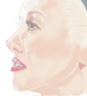 Gwen Stefani Digital Art - Gwen Stefani by Colin Hockless