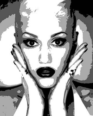Gwen Stefani Painting - Gwen Stefani by Dan Carman