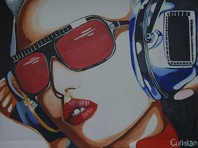 Gwen Stefani Painting - Gwen Stefani by Elizabeth-Anne Curistan