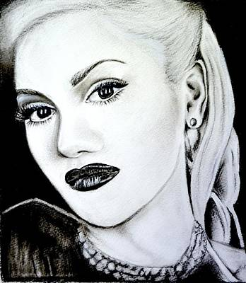 Gwen Stefani Drawing - Gwen Stefani by Sandy Dournayan