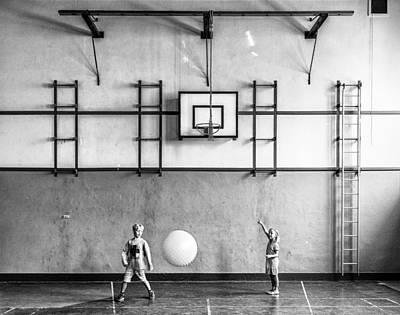 Leiden Photograph - Gym by Susanne Stoop