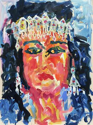 Gypsy Afternoon Print by Khalid Alzayani