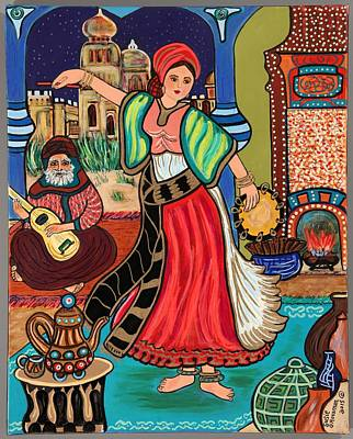 Gypsy Dancer Original by Susie Grossman