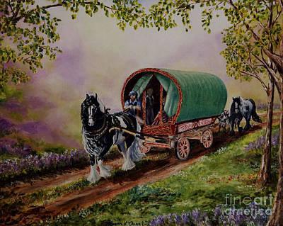 Morn Painting - Gypsy Road by Ruanna Sion Shadd a'Dann'l