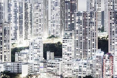 Hong Kong Photograph - Habitat by Roman Becker