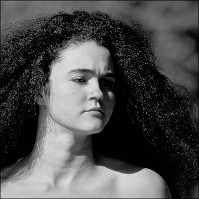 Hair Print by Dennis Gay