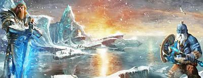 Arctic Digital Art - Halas Reborn by Ryan Barger