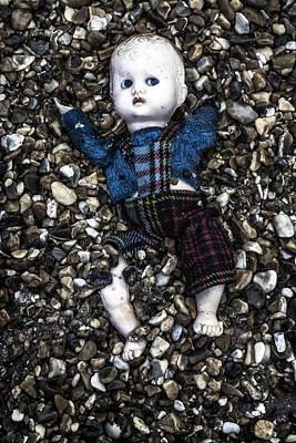 Doll Photograph - Half Buried Doll by Joana Kruse