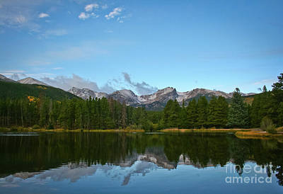 Gallery Website Photograph - Hallet Peak Reflected by Brent Parks