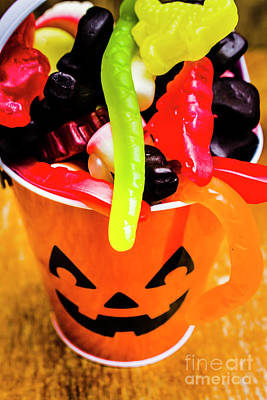 Licorice Photograph - Halloween Party Details by Jorgo Photography - Wall Art Gallery