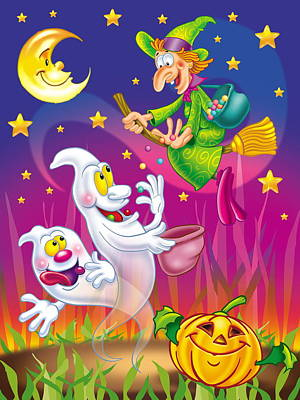 Einladung Painting - Halloween Party Invitation by Patrick Hoenderkamp