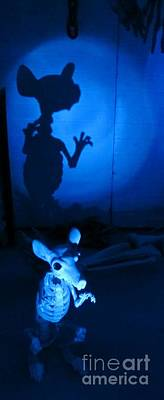 Halloween Rat Original by John Malone