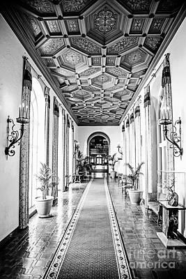 Hallway Of Elegance Print by Scott Pellegrin