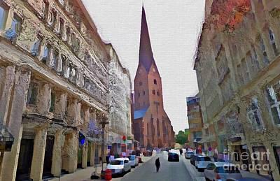 Hamburg Digital Art - Hamburg Memories by Donald Chandonnet