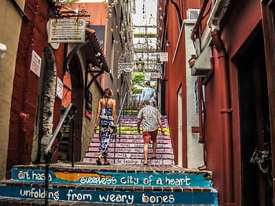 Bermuda Photograph - Hamilton Alley, Bermuda by Shane Reed