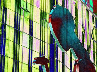 Hammering Man 3 Print by Tim Allen
