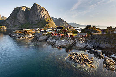Hamnoy Island Original by Jacek Kadaj